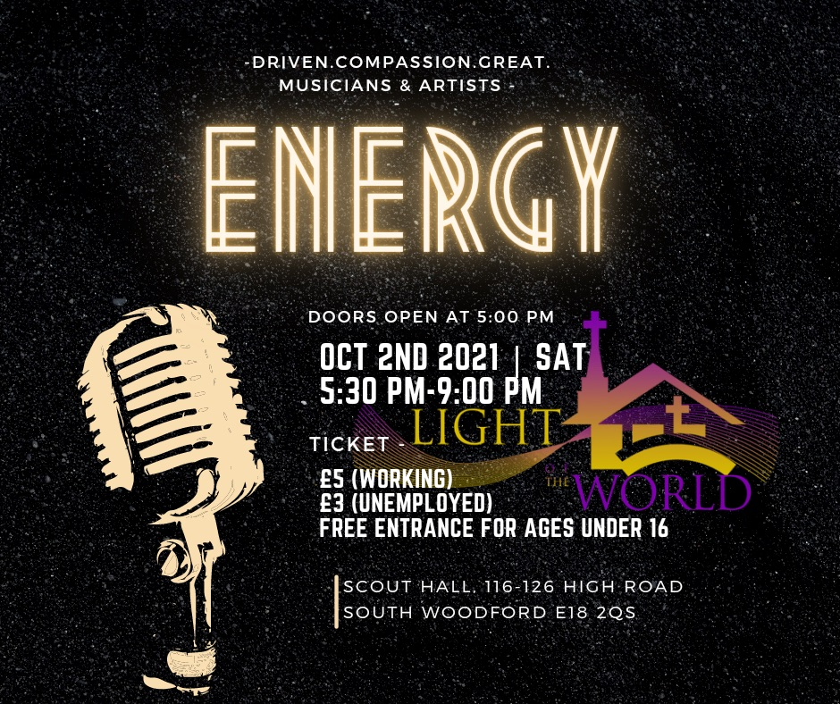 Energy @ Scout Hall